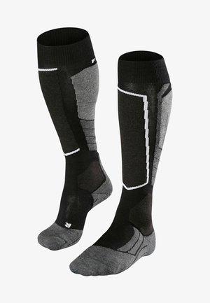 SK2 WOOL - Chaussettes de sport - nearly black