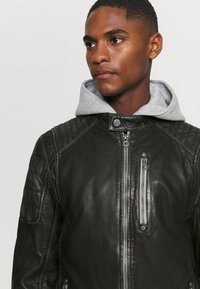 Gipsy - HALOW - Leather jacket - black - 4
