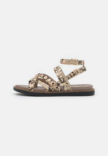 T-bar sandals - grey light