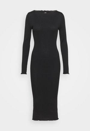 NIGHTWEAR DRESS - Negligé - black dark