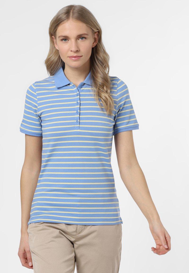 Franco Callegari - Polo shirt - blau gelb