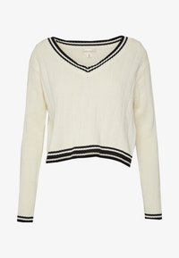 Honey Punch - LOS ANGELES PREPPY - Jumper - cream - 4