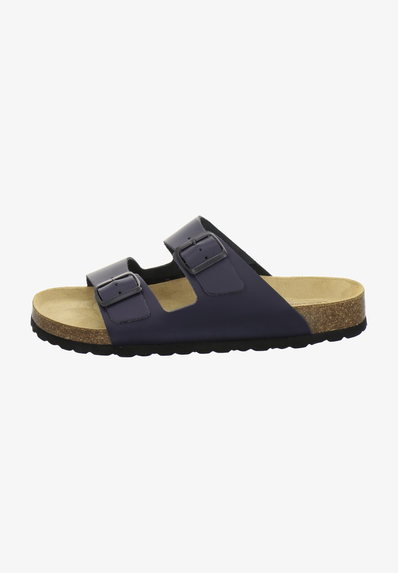 AFS Schuhe - Mules - navy