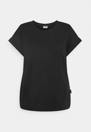 NMMATHILDE O NECK - Basic T-shirt - black