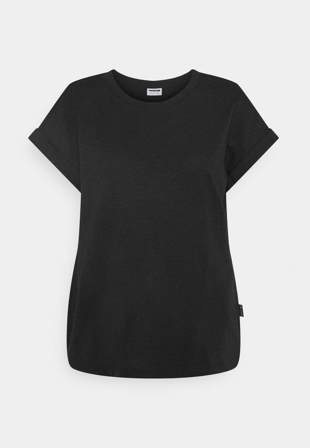MATHILDE  - Jednoduché triko - black