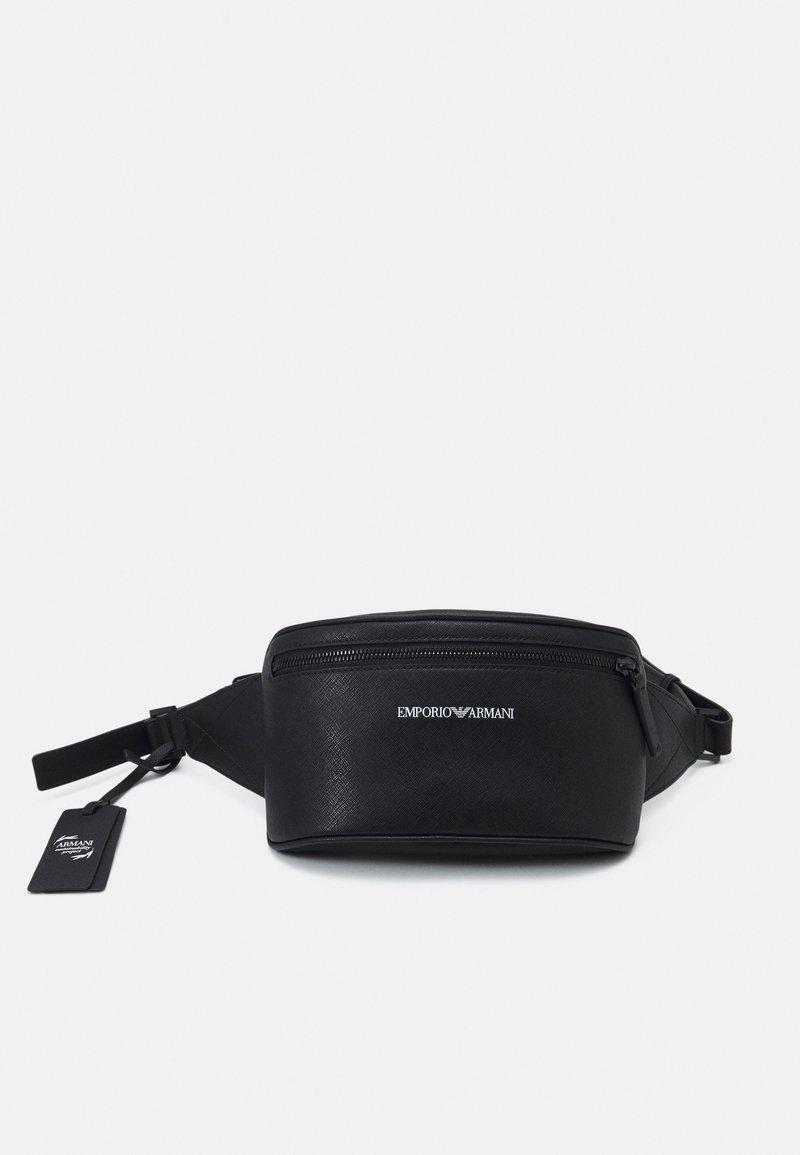 Emporio Armani - BELT BAG - Bum bag - black