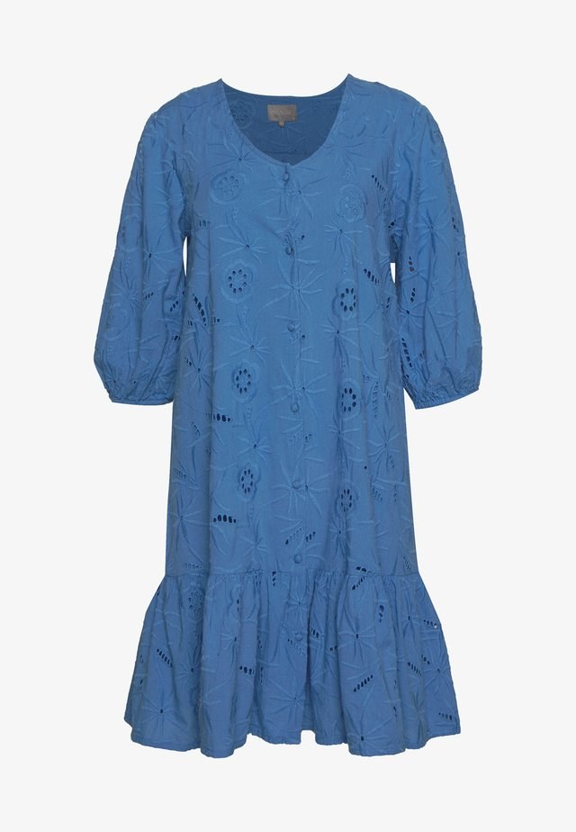 CUSAGA ANGLAISE DRESS - Vestito estivo - marina