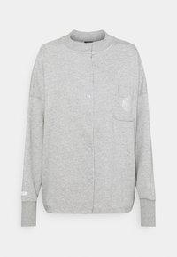 Nike Sportswear - FEMME - Zip-up hoodie - grey heather/matte silver/white - 5