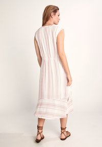 comma casual identity - GESTREIFTES - Day dress - white printed stripes - 1