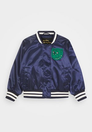 BULLDOG BASEBALL JACKET UNISEX - Lehká bunda - navy