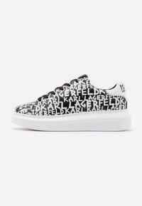 KARL LAGERFELD - KAPRI GRAFFITI LACE - Sneaker low - black/white - 1