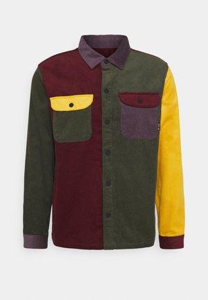 CORD BLOCK  - Shirt - olive