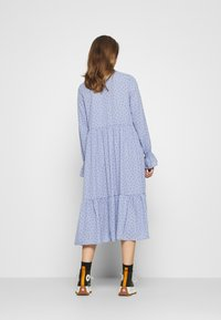 Monki - PARLY DRESS - Blusenkleid - blue - 2