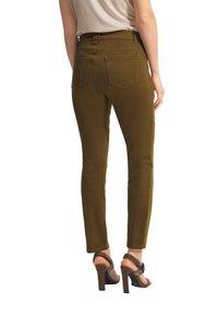 comma - Slim fit jeans - dark green - 1