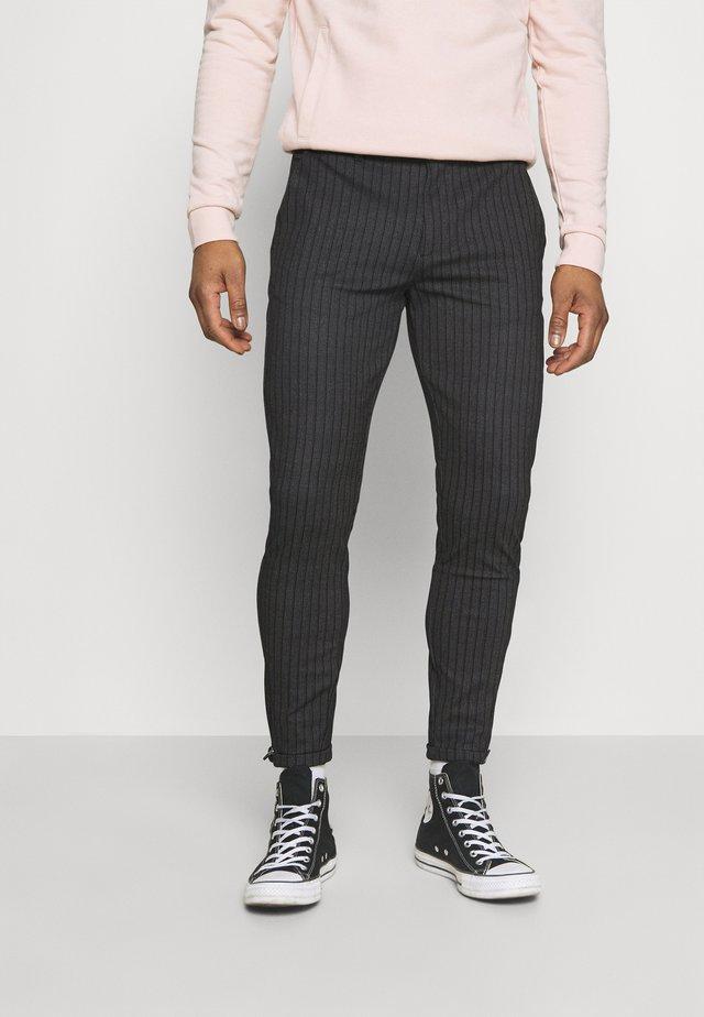 PISA PANT - Pantalon classique - black
