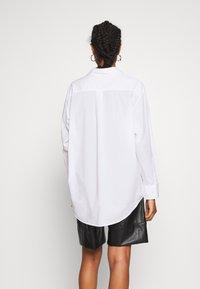 Weekday - EDYN - Button-down blouse - white - 2