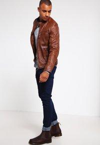 Oakwood - CASEY  - Leather jacket - tobacco - 1