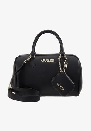 CALISTA BOX SATCHEL - Håndtasker - black
