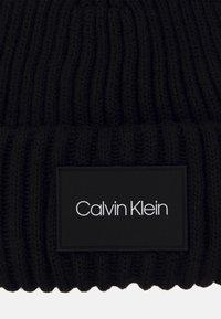 Calvin Klein - BEANIE - Beanie - black - 2