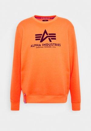 BASIC  - Sweatshirt - neon orange