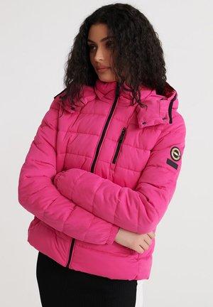 SUMMER MICROFIBRE - Winter jacket - hot pink