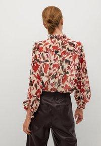 Mango - FLORALIS - Button-down blouse - ecru - 2