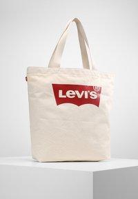 Levi's® - BATWING TOTE - Tote bag - ecru - 0