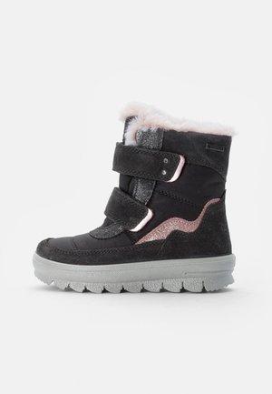 FLAVIA - Snowboots  - grau/rosa