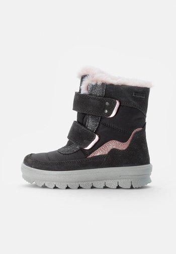 FLAVIA - Winter boots - grau/rosa