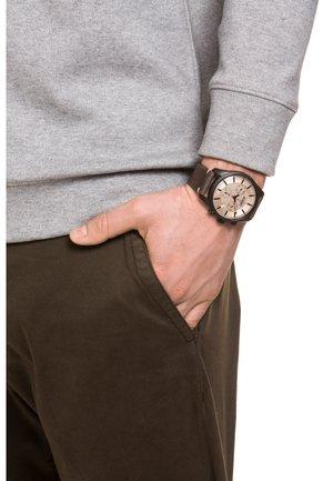HERRENUHR - Zegarek chronograficzny - brown/beige