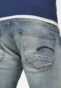 G-Star - REVEND SKINNY - Jeans Skinny Fit - antic faded lapo blue destroyed - 3