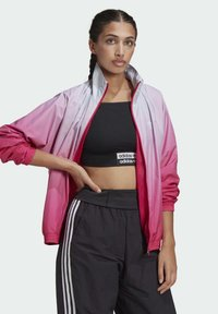 adidas Originals - ADICOLOR 3D TREFOIL TRACK TOP - Veste de survêtement - blue, pink - 3