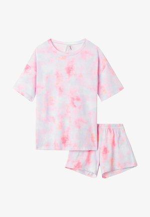 2 PACK - Pyjama - multifarben sttie&dye rosa
