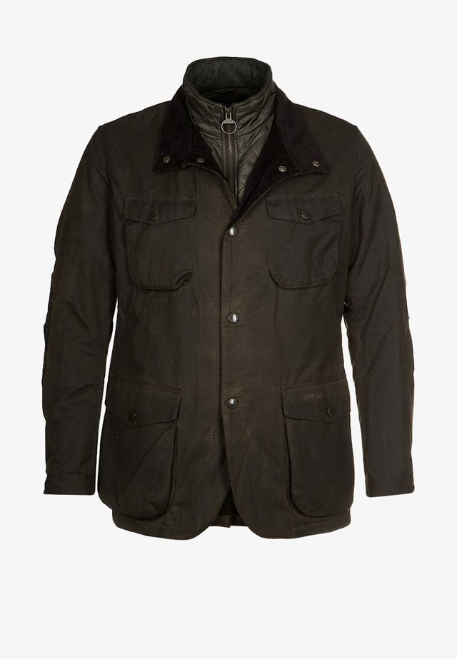 OGSTON - Short coat - olive