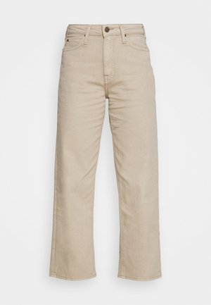 WIDE LEG - Relaxed fit jeans - service sand