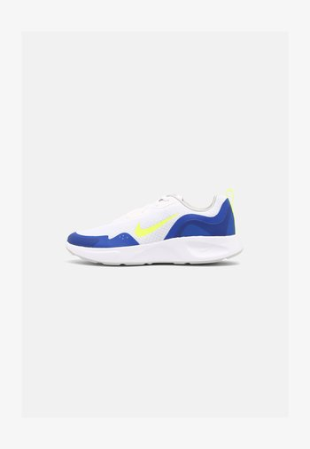 WEARALLDAY UNISEX - Trainers - white/volt/game royal/grey fog