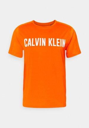 T-shirts med print - danger orange