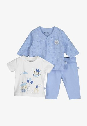 SET - Vest - blau aop