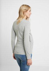 MAMALICIOUS - MLCHRISTIANE IRIS  - Långärmad tröja - light grey melange - 2