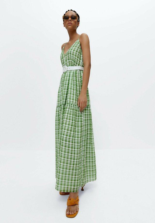 Vestito lungo - green