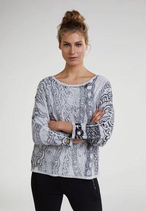 MIT KETTENMOTIVEN - Jumper - grey