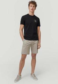 O'Neill - Print T-shirt - black out - 0