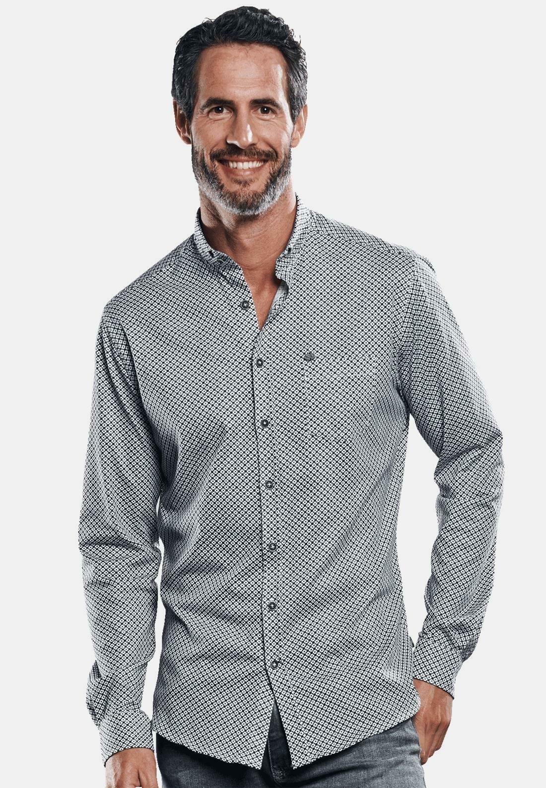 Herren LANGARM - Hemd