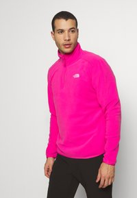 The North Face - MENS GLACIER 1/4 ZIP - Fleece jumper - pink - 0