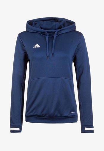 TEAM 19  - Jersey con capucha - navy blue / white