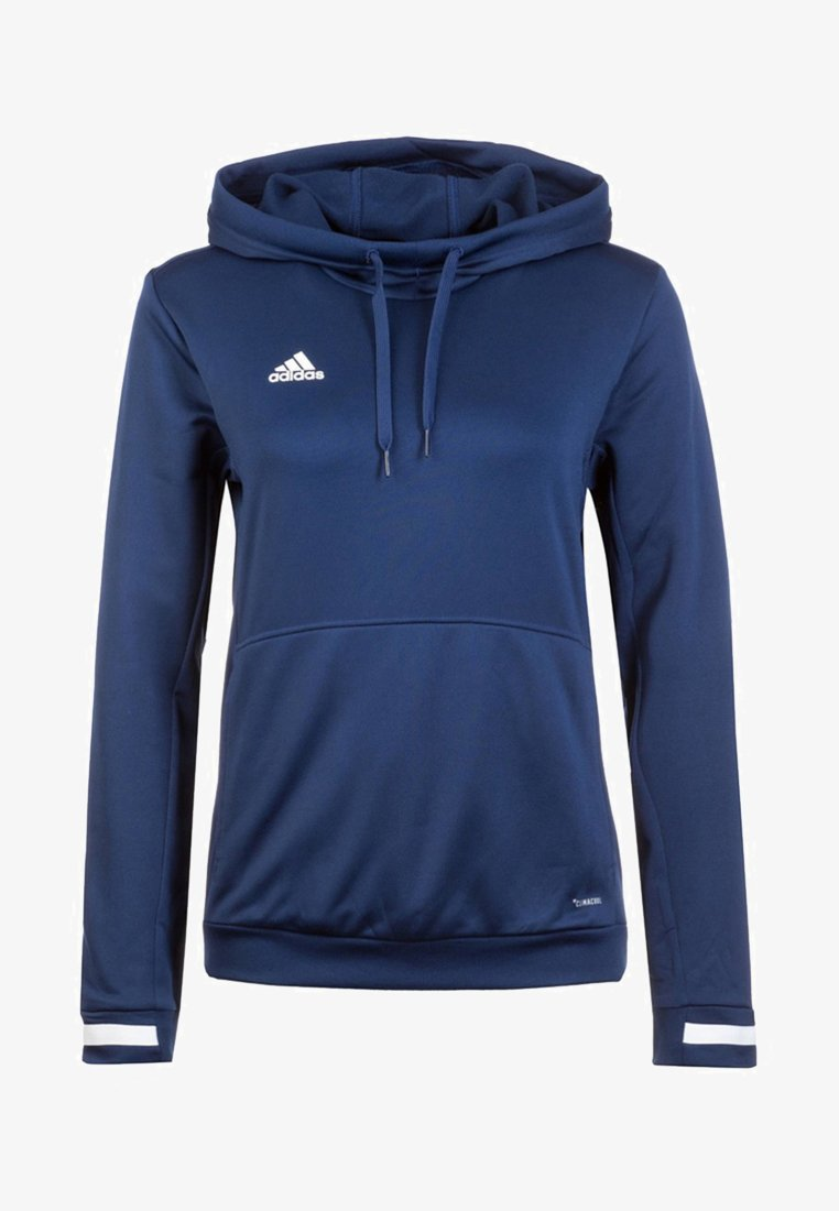 adidas Performance - TEAM 19  - Kapuzenpullover - navy blue / white