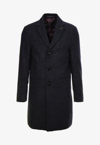 Burton Menswear London - FAUX CROMBI - Zimní kabát - navy - 5