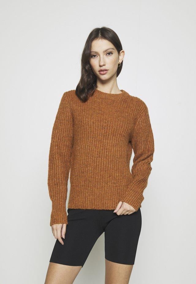 JDYTESSA - Trui - leather brown