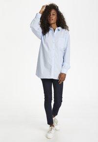 Karen by Simonsen - Button-down blouse - xenon blue - 0