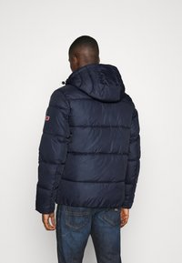 Tommy Jeans - COLORBLOCK PADDED JACKET - Winter jacket - twilight navy - 2